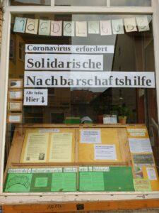 Solidarische Nachbarschaftshilfe